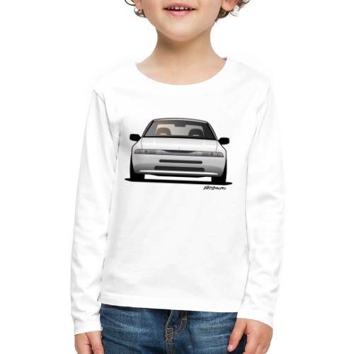 Subaru Alcyone SVX Modern JDM Icon Sticker - Kids' Premium Long Sleeve T-Shirt