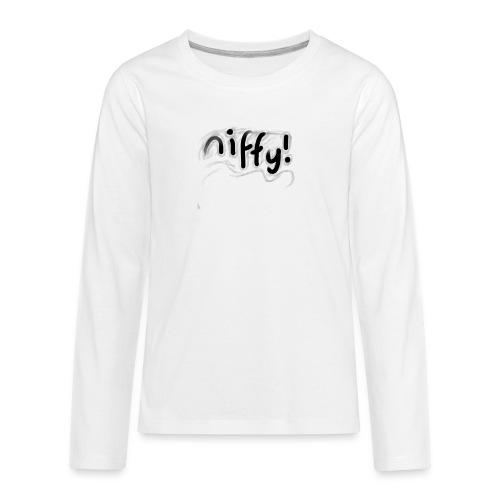 Niffy's Sway Design - Kids' Premium Long Sleeve T-Shirt