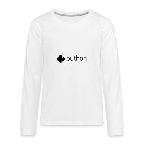 python logo - Kids' Premium Long Sleeve T-Shirt