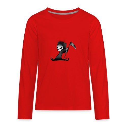 the grim - Kids' Premium Long Sleeve T-Shirt