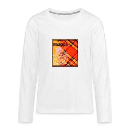 mckidd name - Kids' Premium Long Sleeve T-Shirt