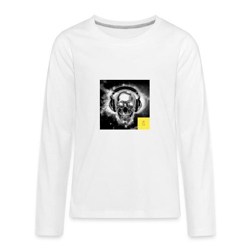 skull - Kids' Premium Long Sleeve T-Shirt