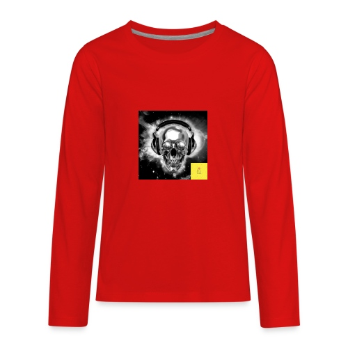 skull - Kids' Premium Long Sleeve T-Shirt
