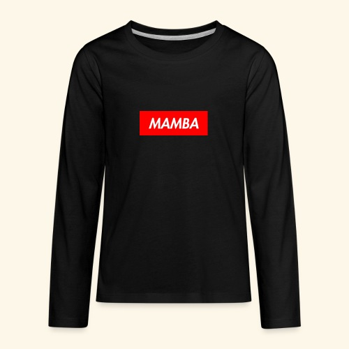 Supreme Mamba - Kids' Premium Long Sleeve T-Shirt