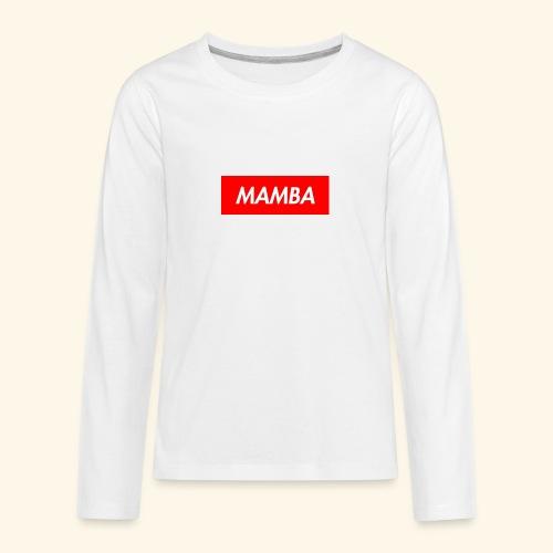 Supreme Mamba - Kids' Premium Long Sleeve T-Shirt