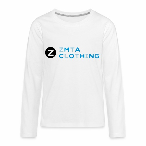 ZMTA logo products - Kids' Premium Long Sleeve T-Shirt