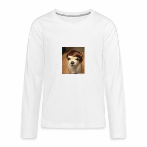 Justin Dog - Kids' Premium Long Sleeve T-Shirt