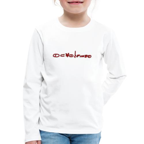 Sign1News in written ASL (Exclusive Design) - Kids' Premium Long Sleeve T-Shirt
