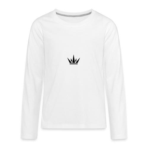 DUKE's CROWN - Kids' Premium Long Sleeve T-Shirt