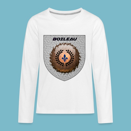 BOILEAU 1 - Kids' Premium Long Sleeve T-Shirt