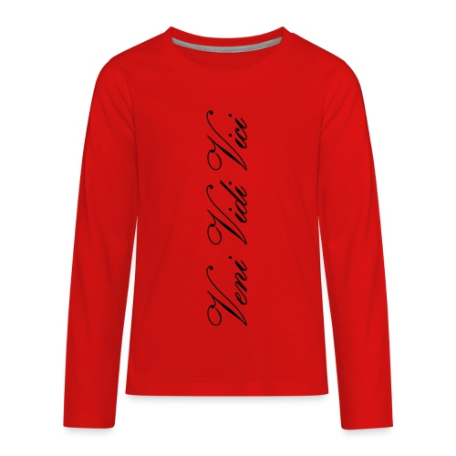 veni vidi vici calli leggins - Kids' Premium Long Sleeve T-Shirt