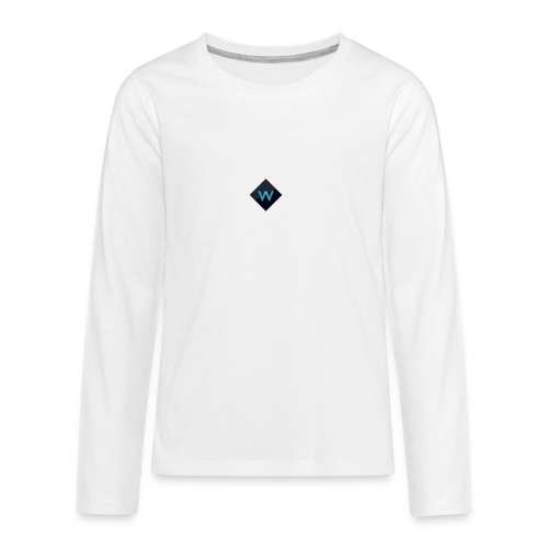 White_Sparclz Gaming CHANEL LOGO 22 - Kids' Premium Long Sleeve T-Shirt