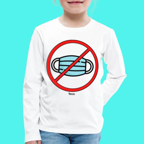BMG- No Mask Collection - Kids' Premium Long Sleeve T-Shirt