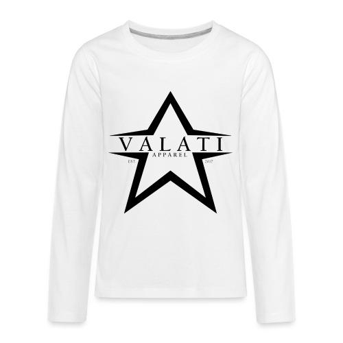 V-STAR Black - Kids' Premium Long Sleeve T-Shirt