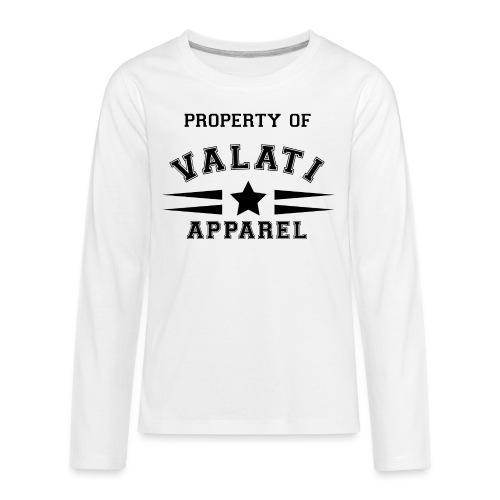Property Of - Kids' Premium Long Sleeve T-Shirt