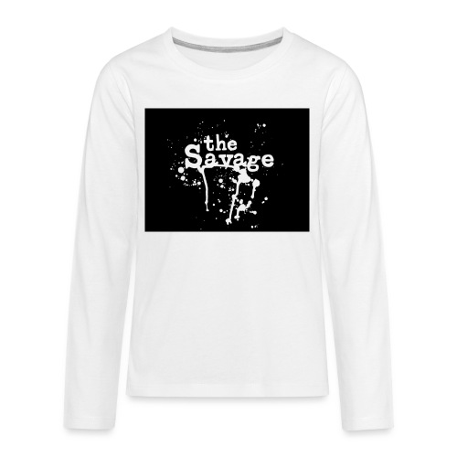 the savage - Kids' Premium Long Sleeve T-Shirt