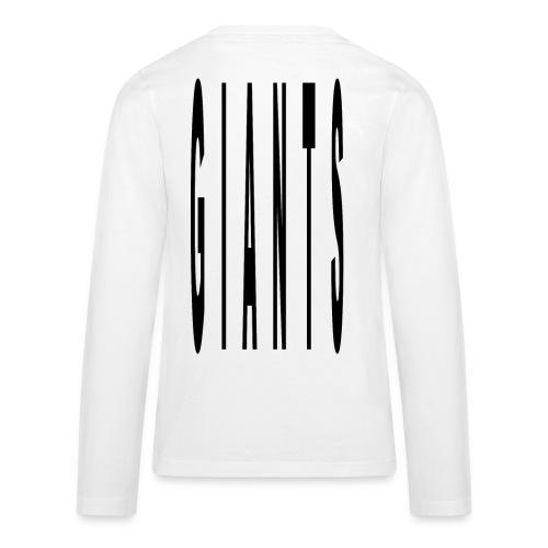 Giant type - Kids' Premium Long Sleeve T-Shirt
