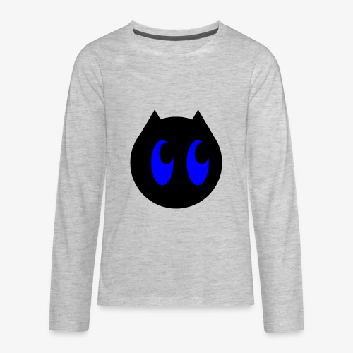 CoolKittyCat Logo - Kids' Premium Long Sleeve T-Shirt