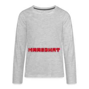 MrRedHat Plain Logo - Kids' Premium Long Sleeve T-Shirt
