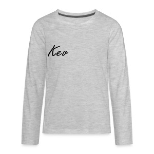 Kgtalic kev logo - Kids' Premium Long Sleeve T-Shirt