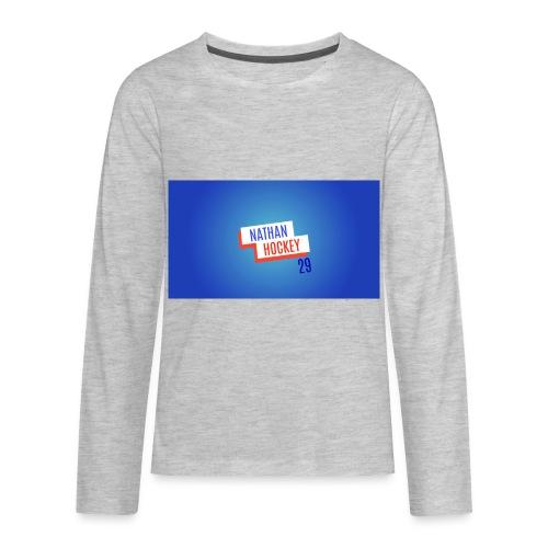 Nathan Hockey 29 - Kids' Premium Long Sleeve T-Shirt