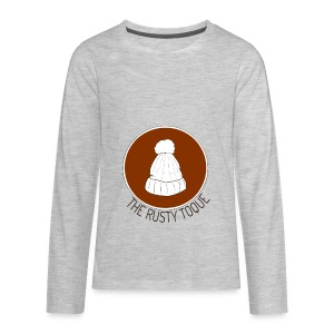 The Rusty Toque Brown Logo 2 - Kids' Premium Long Sleeve T-Shirt