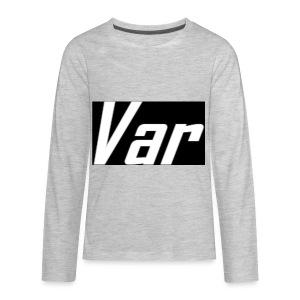 Var Long Sleeve - Kids' Premium Long Sleeve T-Shirt