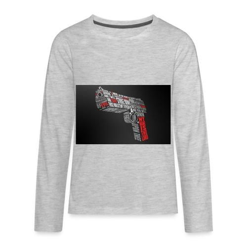 youtube - Kids' Premium Long Sleeve T-Shirt