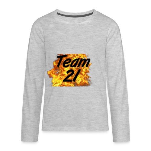 Team22Fire - Kids' Premium Long Sleeve T-Shirt
