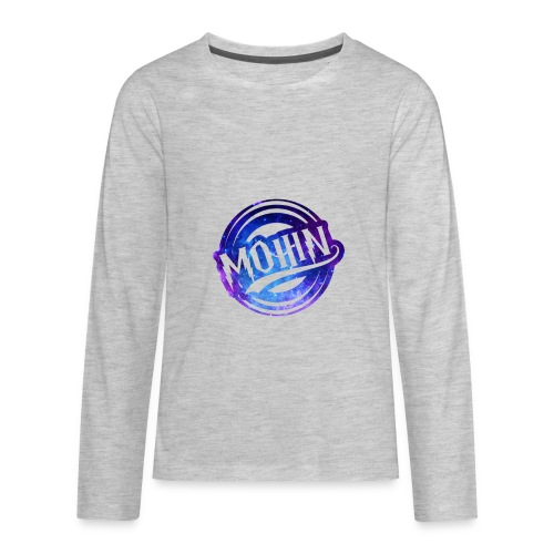 MOHIN Logo - Kids' Premium Long Sleeve T-Shirt