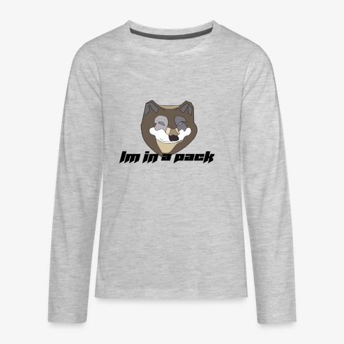 im in a pack - Kids' Premium Long Sleeve T-Shirt