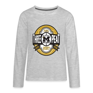 3peat - Kids' Premium Long Sleeve T-Shirt