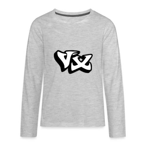VorteX Emblem - Kids' Premium Long Sleeve T-Shirt