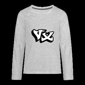 VorteX Emblem - Kids' Premium Long Sleeve T-Shirt