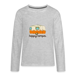Happy Camper - Kids' Premium Long Sleeve T-Shirt
