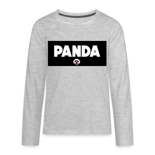 PandaSavageLogo - Kids' Premium Long Sleeve T-Shirt