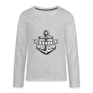 Hustle - Kids' Premium Long Sleeve T-Shirt