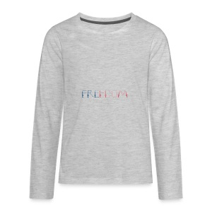 Freedom - Kids' Premium Long Sleeve T-Shirt