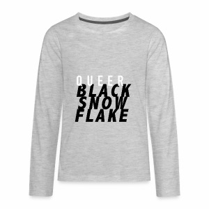 #queerblacksnowflake - Kids' Premium Long Sleeve T-Shirt