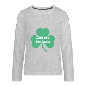 Rub me for luck - Kids' Premium Long Sleeve T-Shirt