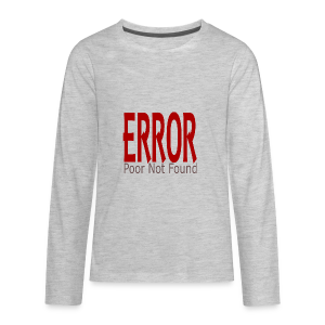 Oops There Is Something Missing! - Kids' Premium Long Sleeve T-Shirt