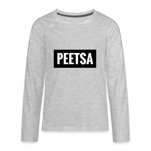 Black Box Peetsa - Kids' Premium Long Sleeve T-Shirt