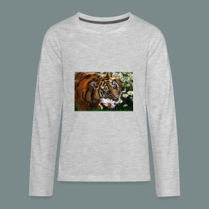 Tiger flo - Kids' Premium Long Sleeve T-Shirt