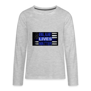 blue-lives-matter-membership-1-1024x538 - Kids' Premium Long Sleeve T-Shirt