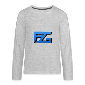 Freeze Gaming Logo - Kids' Premium Long Sleeve T-Shirt