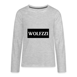 wolfzzishirtlogo - Kids' Premium Long Sleeve T-Shirt
