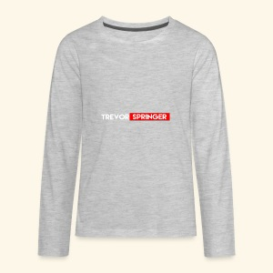 Trevor Springer (YOUTUBE EDITION) - Kids' Premium Long Sleeve T-Shirt