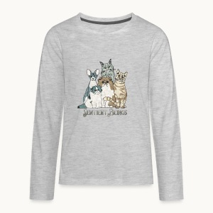 CATS - SENTIENT BEINGS - Carolyn Sandstrom - Kids' Premium Long Sleeve T-Shirt