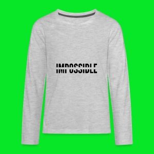 Impossible - Kids' Premium Long Sleeve T-Shirt