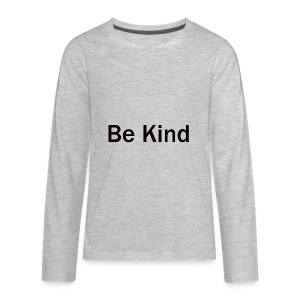 Be_Kind - Kids' Premium Long Sleeve T-Shirt